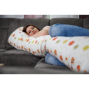 Relaxační polštář Matýsek, louka oranžová