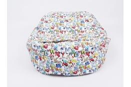 Náhradní potah na pelíšek pro miminko GRAFITTI 100% bavlna