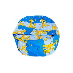 Náhradní potah na pelíšek pro miminko ŽIRAFA MODRÁ 100% bavlna