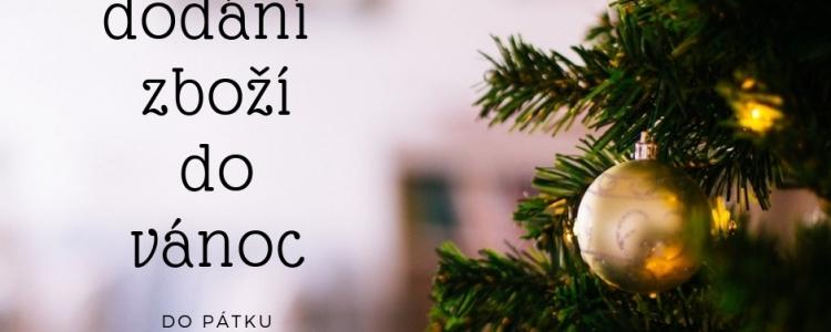 Garance doručení do vánoc