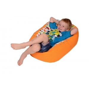 Pelíšek pro miminko, relaxační polštář BERUŠKA oranžová, AKCE 1