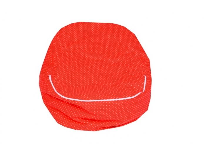 Pelíšek pro miminko, relaxační vak BERUŠKA červená5