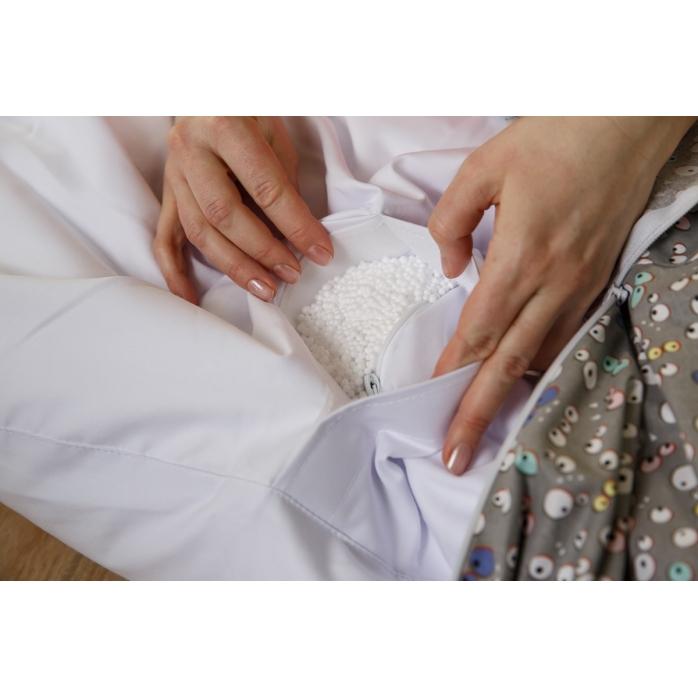 Výplň pelíšek pro miminko, hvězdy modré