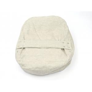 Pelíšek pro miminka, kojenecký relaxační polštář PŘÍRODNÍ LEN 2
