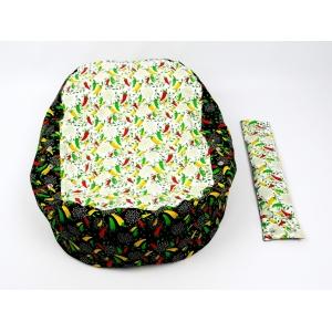 Pelíšek pro miminka, kojenecký relaxační polštář PAPRIČKY