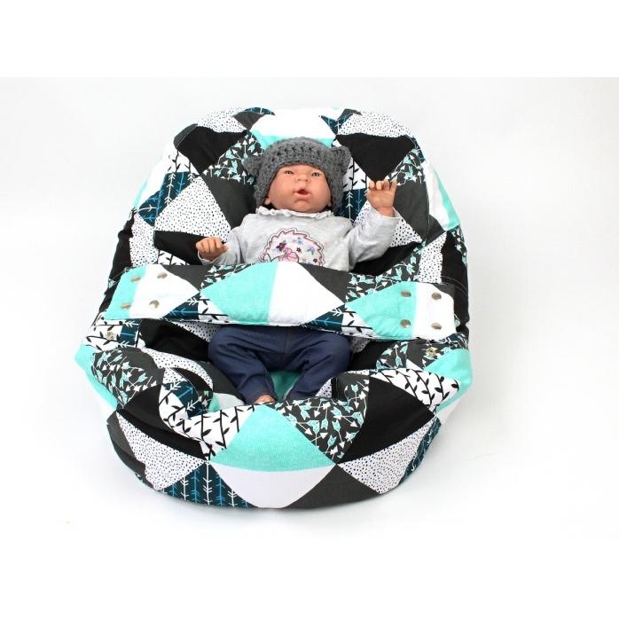 Pelíšek pro miminka, kojenecký relaxační polštář MAMINČIN SEN