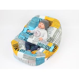 Pelíšek pro miminka, kojenecký relaxační polštář SUNNY