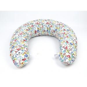 Kojící polštář Maxi GRAFITTI 100% bavlna 3