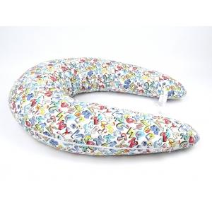 Kojící polštář Maxi GRAFITTI 100% bavlna 2