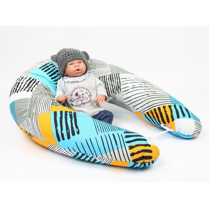 Kojící polštář Maxi SUNNY 100% bavlna
