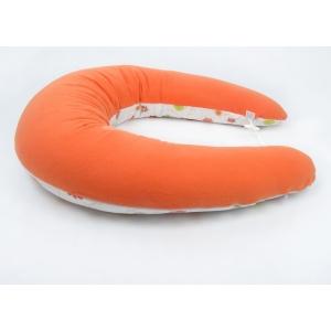 Kojicí polštář Standard LOUKA oranžová, colormix 1