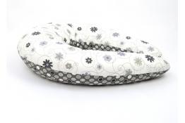 Kojicí polštář Standard LOUKA černobílá, 100% bavlna