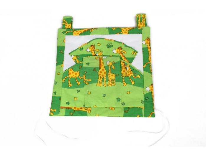 Kapsář na postýlku, Žirafa zelená